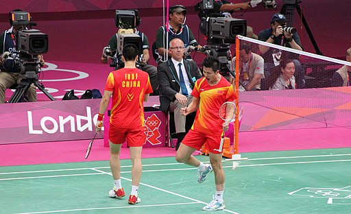 Cai Yun and Fu Haifeng Best men`s doubles pair ever in Badminton