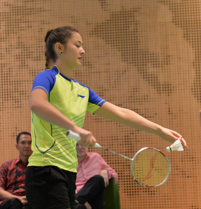 Gronya Somerville Sexy Badminton