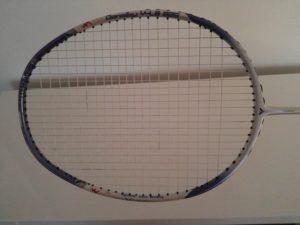 Frame shape - Badminton racket guide