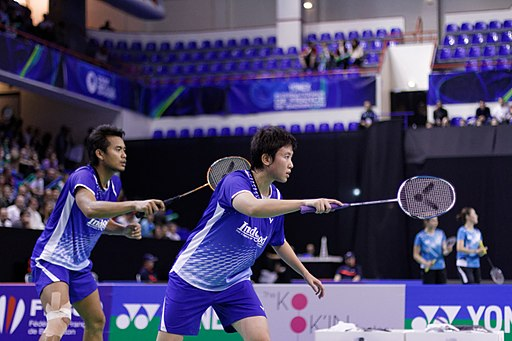 Ahmad Natsir - Best badminton mixed doubles ever
