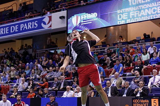 Best Mixed Doubles Player Ever Badminton - Chris Adcock