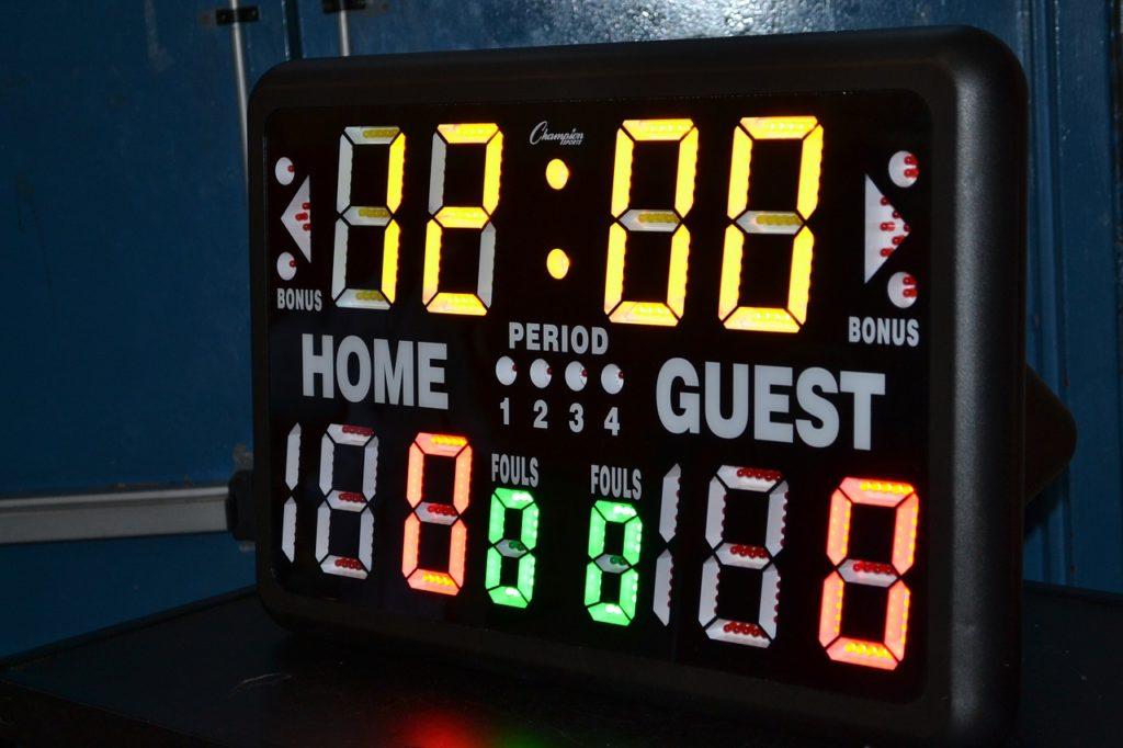 Badminton scoring rules