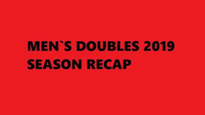 Badminton Season 2019 Recap - Mens Doubles