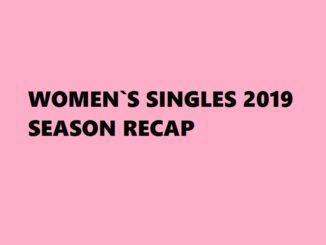Badminton Womens Singles Season 2019